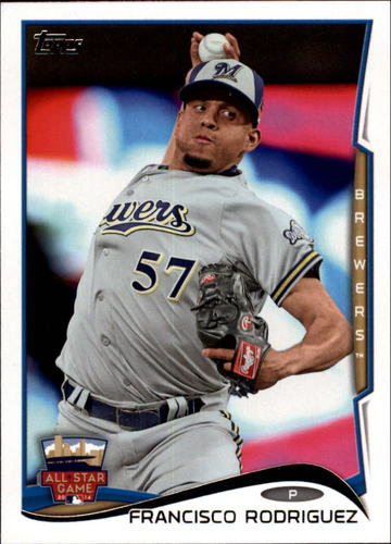Photo of 2014 Topps Update #US9 Francisco Rodriguez