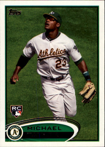 Photo of 2012 Topps #36 Michael Taylor RC
