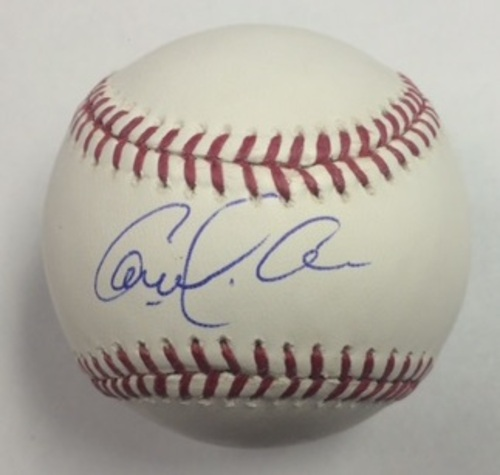 Photo of Carlos Correa Autographed Baseball
