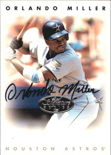 Photo of 1996 Leaf Signature Autographs Silver #156 Orlando Miller