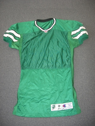 299094ea07e NFL Auction | Jets – 1996 Kelly Green Prototype Champion Jersey