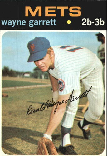 Photo of 1971 Topps #228 Wayne Garrett