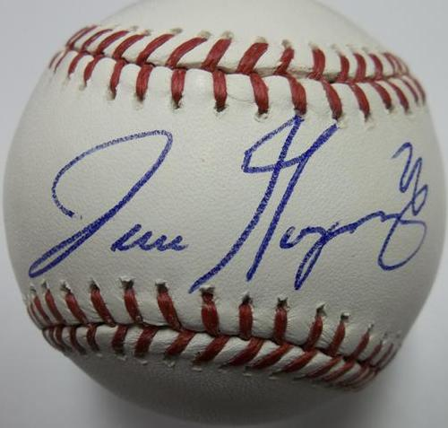 Photo of Jose Guzman Autographed Baseball