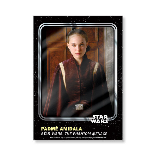 Padmí©  Amidala 2016 Star Wars Card Trader Base Poster - # to 99