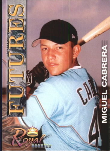 Photo of 2001 Royal Rookies Futures #16 Miguel Cabrera