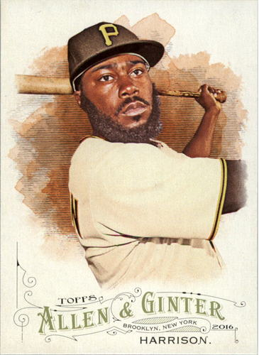 Photo of 2016 Topps Allen and Ginter #162 Josh Harrison