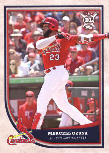 Photo of 2018 Topps Big League #114 Marcell Ozuna