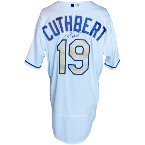 Photo of Autographed Gold Jersey: Cheslor Cuthbert
