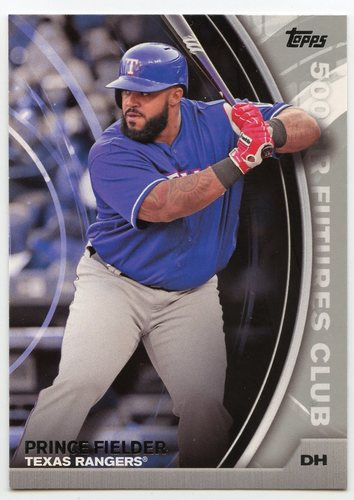 Photo of 2016 Topps Update 500 HR Futures Club Silver #5002 Prince Fielder