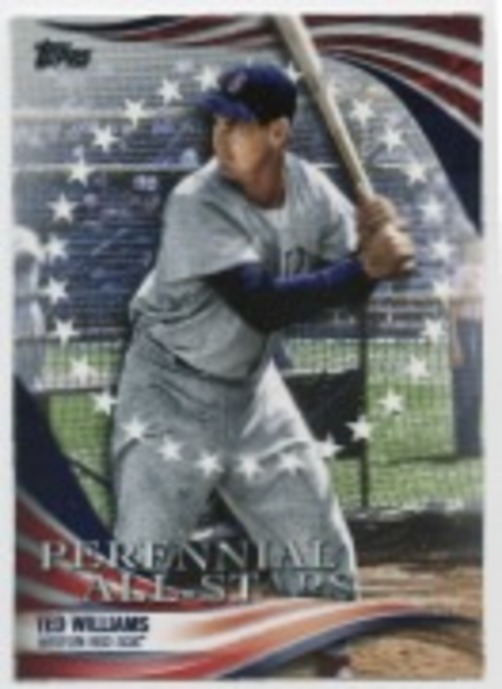 2019 Topps Update Perennial All Stars #PAS2 Ted Williams