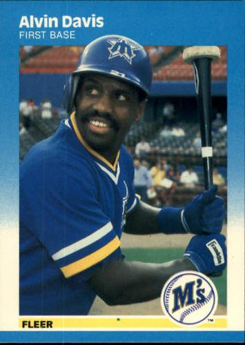 Photo of 1987 Fleer #584 Alvin Davis