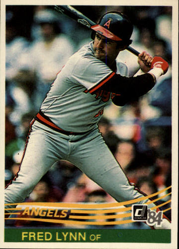 Photo of 1984 Donruss #108 Fred Lynn