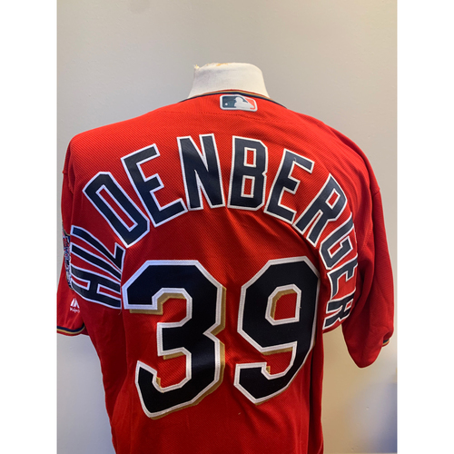 Photo of Minnesota Twins - 2019 Game-Used Spring Training Jersey - Trevor Hildenberger