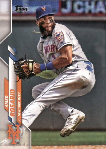 Photo of 2020 Topps #136 Amed Rosario