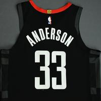 Ryan Anderson - Houston Rockets - Game-Worn Statement Edition Jersey - NBA Japan Games - 2019-20 NBA Season