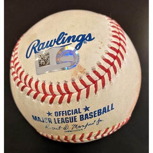 Photo of Adalberto Mondesi Kansas City Royals Triple Baseball (MLB AUTHENTICATED)