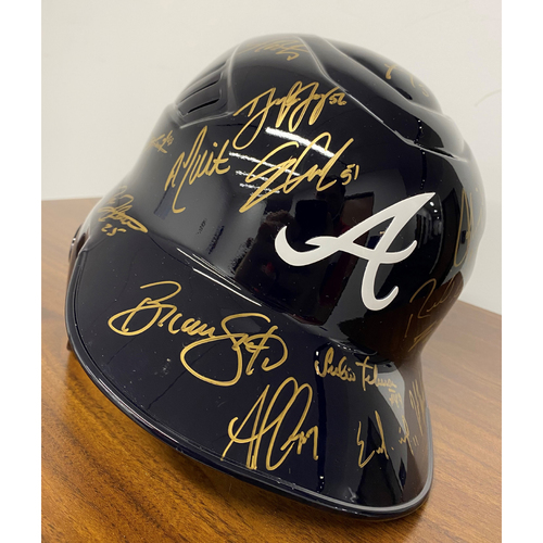 Photo of 2019 Team MLB Authenticated Autographed Helmet - Large