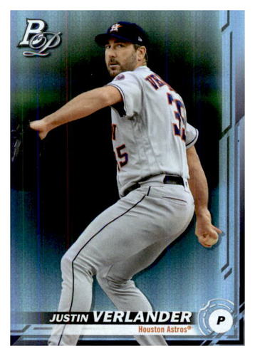 Photo of 2019 Bowman Platinum #10 Justin Verlander