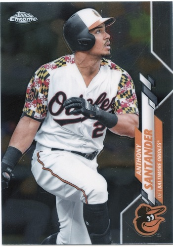 Photo of 2020 Topps Chrome #130 Anthony Santander