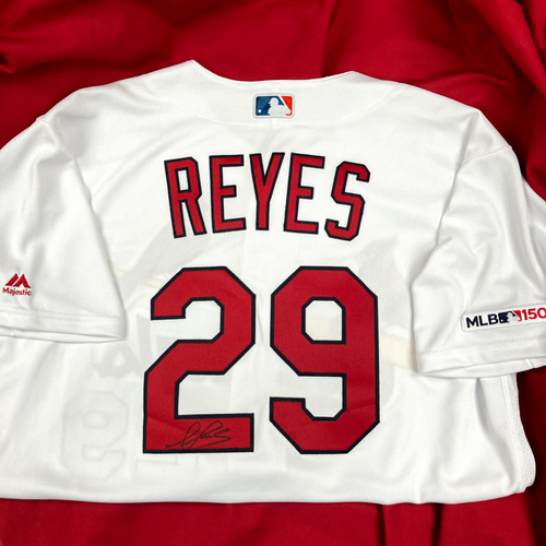 Photo of Alex Reyes Autographed Team Issued Home Jersey (Size 48)