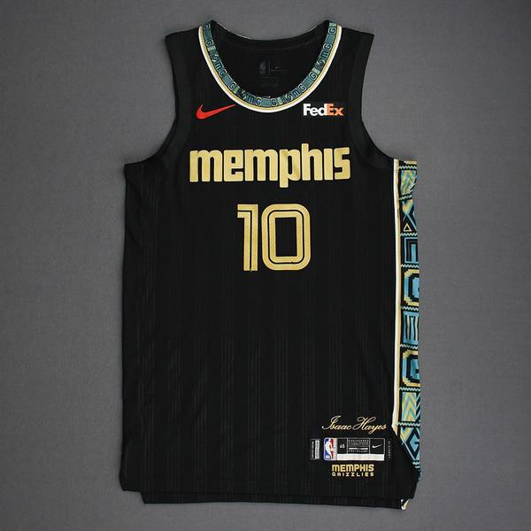 Image of Tim Frazier - Memphis Grizzlies - Game-Worn City Edition Jersey - Dressed, Did Not Play (DNP) - 2021 NBA Playoffs