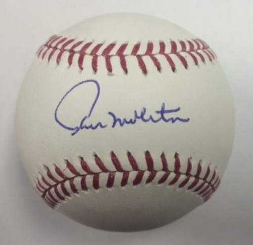 Photo of Paul Molitor Autographed Baseball