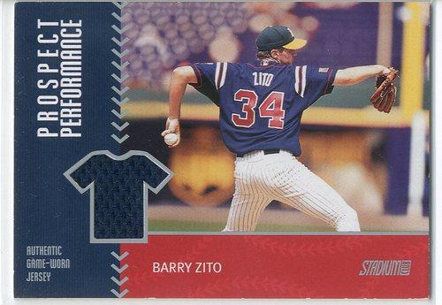 Photo of 2001 Stadium Club Prospect Performance #PRP20 Barry Zito