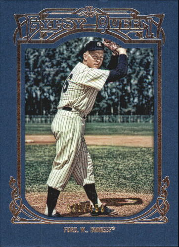 Photo of 2013 Topps Gypsy Queen Framed Blue #161 Whitey Ford