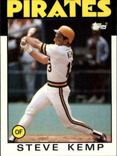 Photo of 1986 Topps #387 Steve Kemp