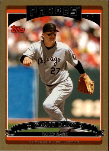 Photo of 2006 Topps Gold #98 Geoff Blum