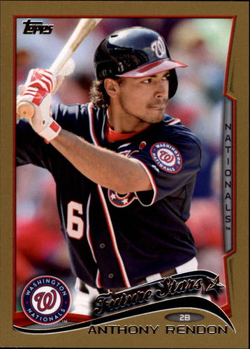 Photo of 2014 Topps Gold #521 Anthony Rendon