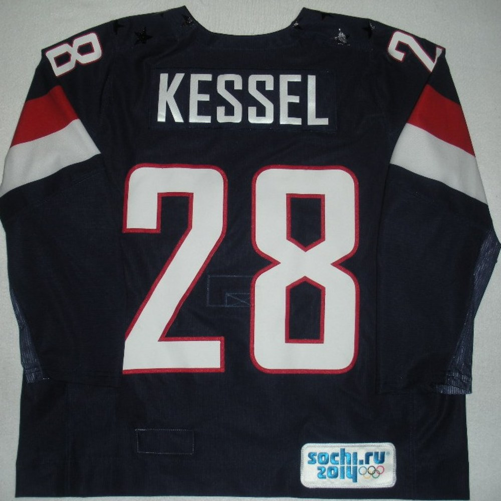 Amanda Kessel - Sochi 2014 - Winter Olympic Games - Team USA Blue ...