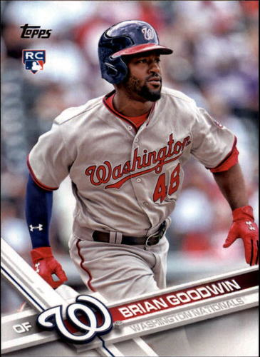 Photo of 2017 Topps #289 Brian Goodwin RC