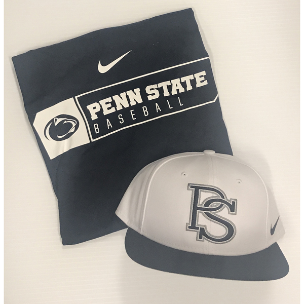 Photo of Penn State Baseball Package 4- T-Shirt and Hat Combo