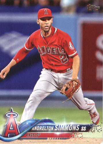 Photo of 2018 Topps #15 Andrelton Simmons