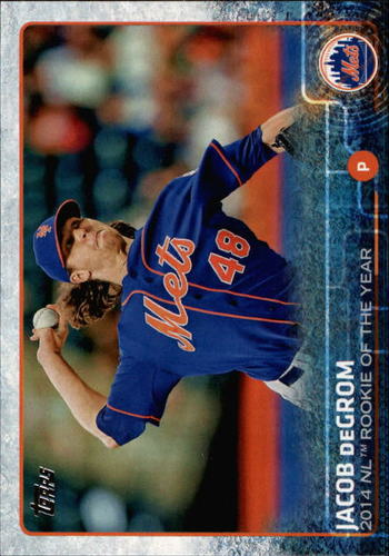 Photo of 2015 Topps #387A Jacob deGrom ROY