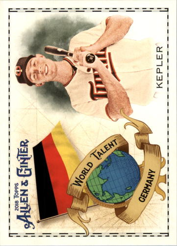 Photo of 2018 Topps Allen and Ginter World Talent #WT21 Max Kepler