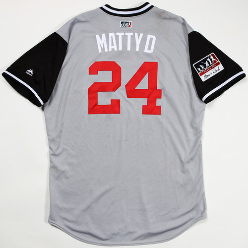 "Photo of Matt ""Matty D"" Davidson Chicago White Sox Game-Used Jersey 2018 Players' Weekend Jersey"