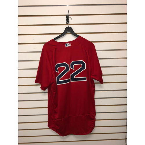 Photo of Rick Porcello Game-Used July 16, 2017 Home Alternate Jersey