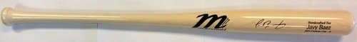 Javier Baez Autographed Marucci Game Model Bat