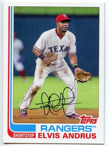 Photo of 2017 Topps Archives #113 Elvis Andrus