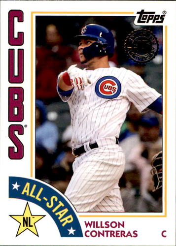 Photo of 2019 Topps '84 Topps All Stars #84ASWC Willson Contreras