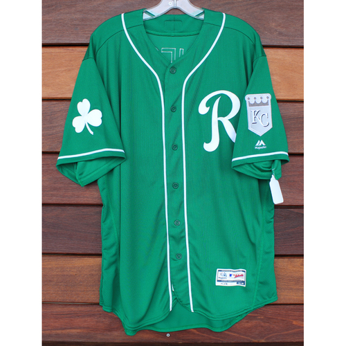 Team-Issued St. Patrick's Day Jersey: Pedro Grifol (Size - 48)