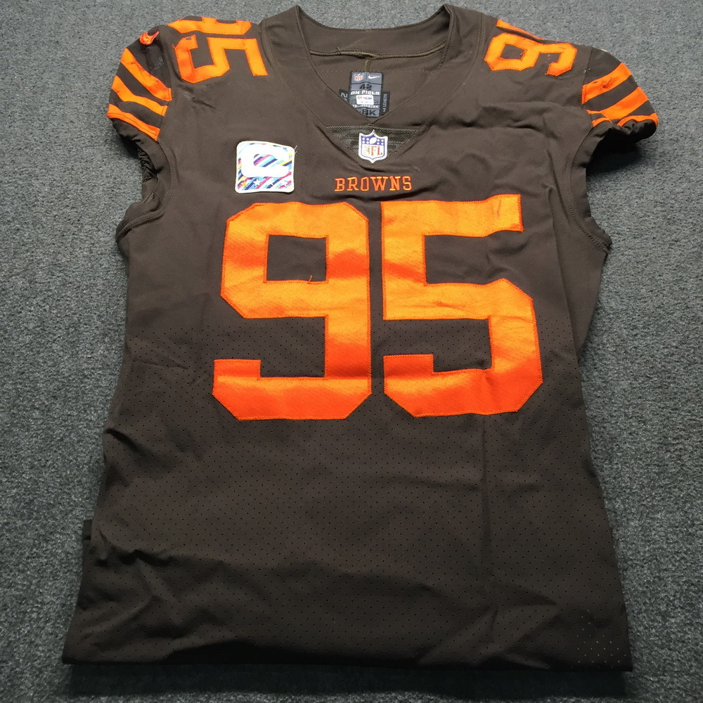 NFL Auction | Crucial Catch - Browns Myles Garrett Game Used ...