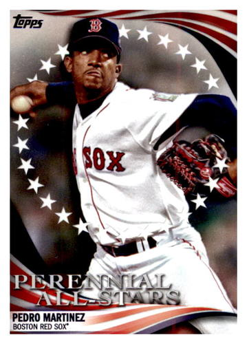 Photo of 2019 Topps Update Perennial All Stars #PAS5 Pedro Martinez