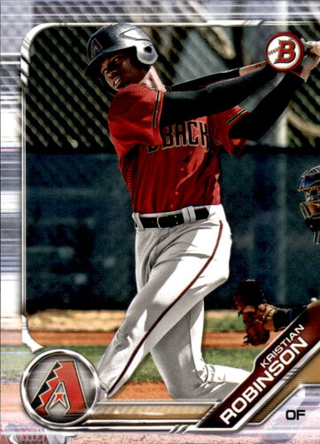 Photo of 2019 Bowman Draft #BD20 Kristian Robinson