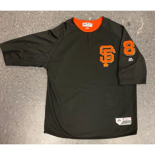 Photo of 2019 Batting Practice Jersey - used by #8 Alex Dickerson during 2019 Season - Size XL