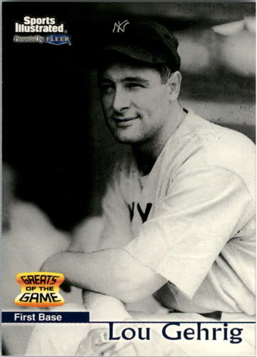 Photo of 1999 Sports Illustrated Greats of the Game #4 Lou Gehrig