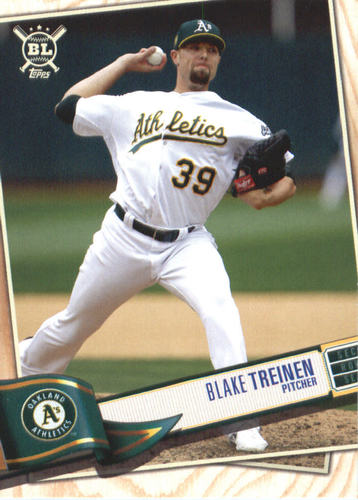 Photo of 2019 Topps Big League #329 Blake Treinen