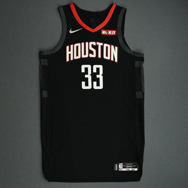 Image of Ryan Anderson - Houston Rockets - Game-Worn Statement Edition Jersey - NBA Japan Games - 2019-20 NBA Season